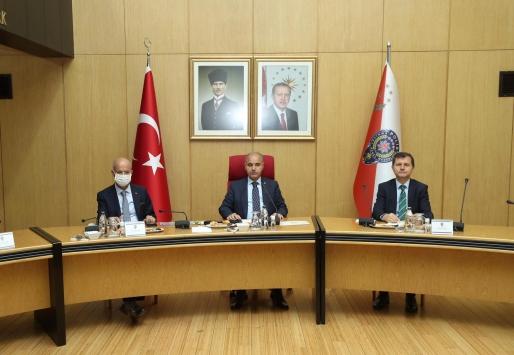 Emniyet Genel Müdürlüğü Koordinasyon Toplantısı yapıldı
