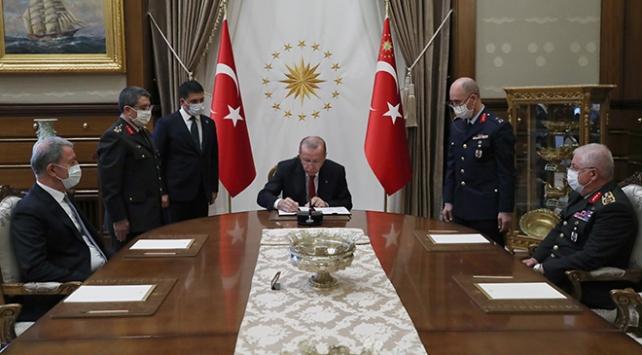 Cumhurbaşkanı Erdoğan YAŞ kararlarını onayladı