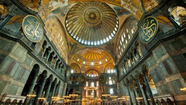 Ayasofya Camii'nde akustik ses denemesi yapıldı
