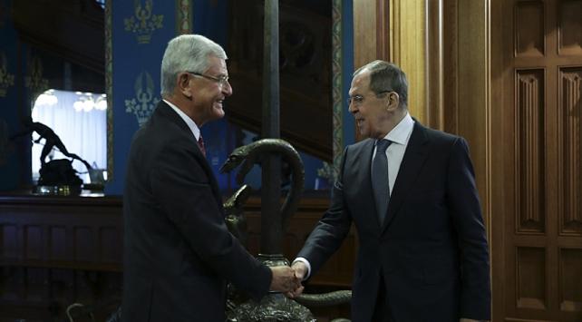 BM 75. Genel Kurul Başkanı Bozkır, Rusya Dışişleri Bakanı Lavrov ile görüştü