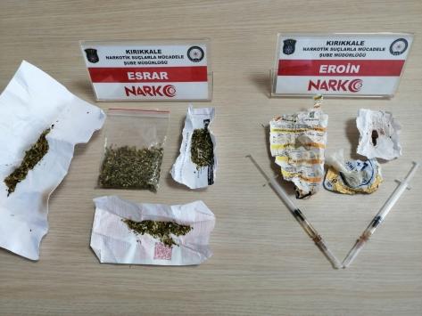 Kırıkkalede uyuşturucu operasyonunda 4 tutuklama