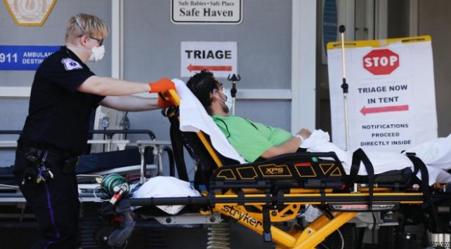 ABDde son 24 saatte 1217 kişi koronavirüsten öldü