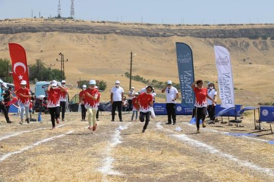 Batman Belediyesinden Köyleri Geziyoruz Sporu Sevdiriyoruz Projesi