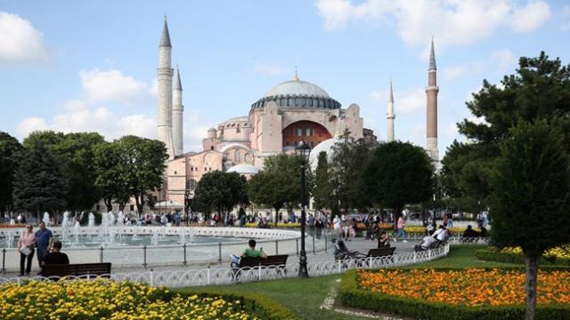 Ayasofya Camii açılıyor