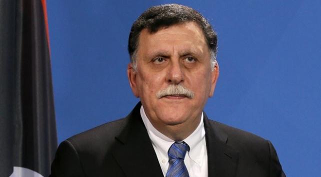 Libya Başbakanı Serrac ile Katar Dışişleri Bakanı Al Sani bir araya geldi