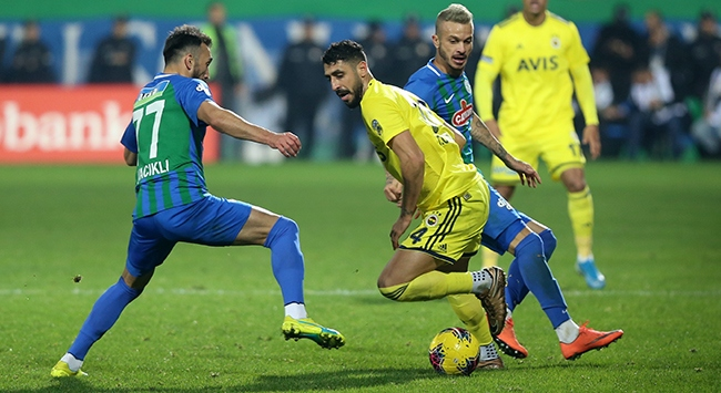 Fenerbahçe ile Rizespor 38. randevuda