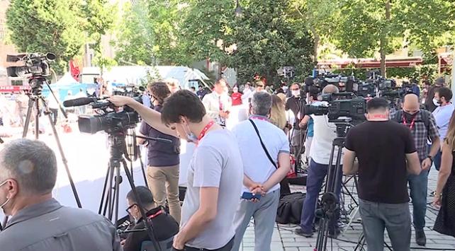 Ayasofya Camiinin açılışına yabancı medyadan yoğun ilgi
