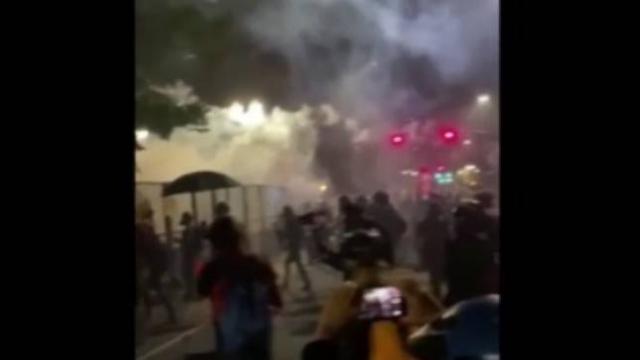 ABD'deki protestolarda gerilim yükseliyor