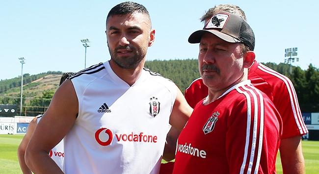 Burak Yılmaz Beşiktaşa veda etti
