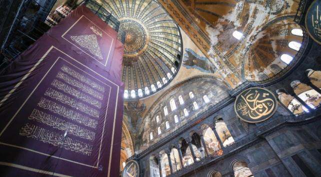 Şentoptan Ayasofya paylaşımı: İstanbulun aziz Fatihinin vasiyeti yerine geldi