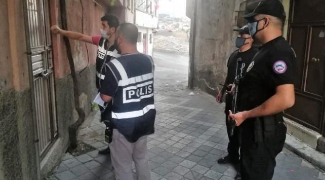 Kahramanmaraşta aranan 61 kişi yakalandı