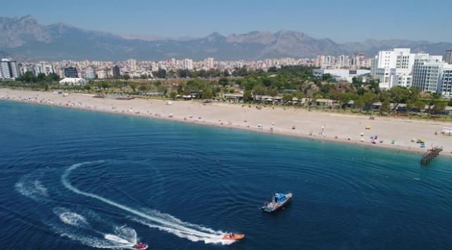 Alman turizmciler Antalyada