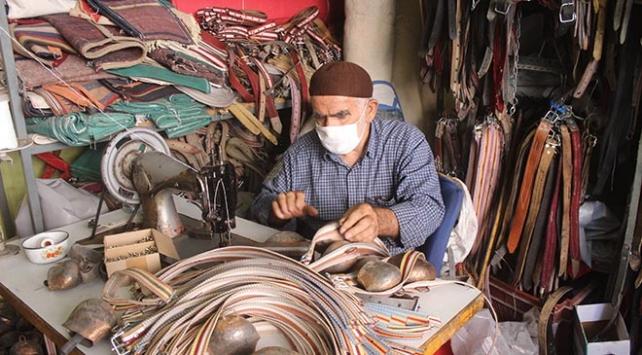 79 yaşındaki saraç ustası: Gençler çalışmadan para kazanmak istiyor