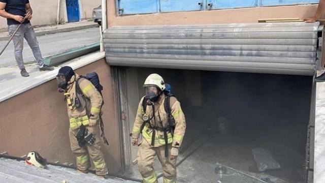 Arnavutköy'de iş yerinde patlama: 3 yaralı