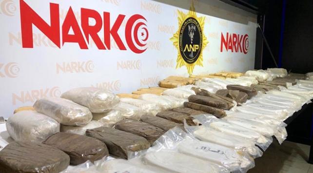 Durdurulan araçtan 55 kilogram uyuşturucu çıktı