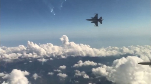 TSK'dan Doğu Akdeniz'de hava eğitimi