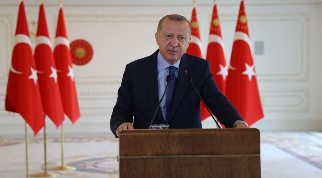 Cumhurbaşkanı Erdoğan: Hedefleri Ayasofya değil bizim buradaki varlığımız