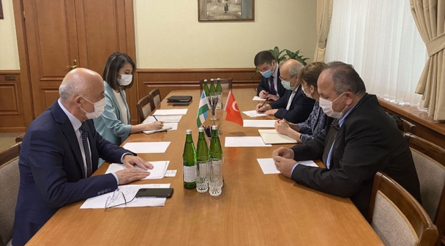 Bilim Kurulu üyeleri Özbekistanda çalışmalara başladı