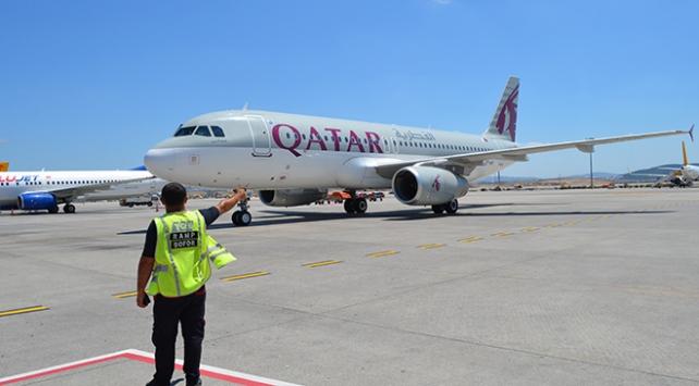Katardan İstanbula 4 ay sonra ilk uçak