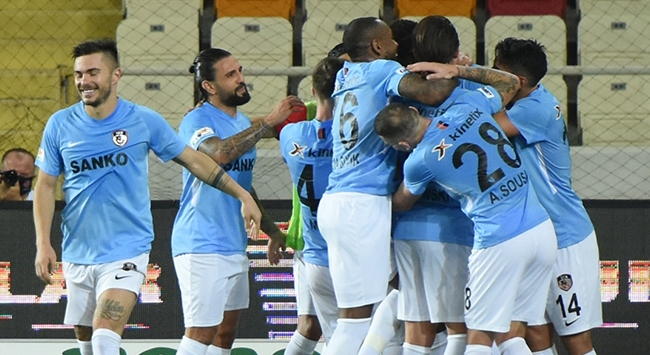Gaziantep FK sezonu 46 puanla tamamladı