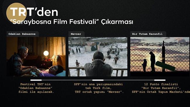 TRT, Saraybosna Film Festivali'ne damga vuracak