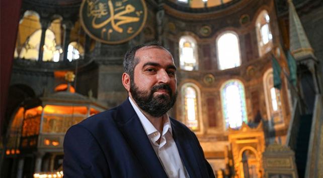 Ayasofyaya atanan din görevlileri duygularını anlattı