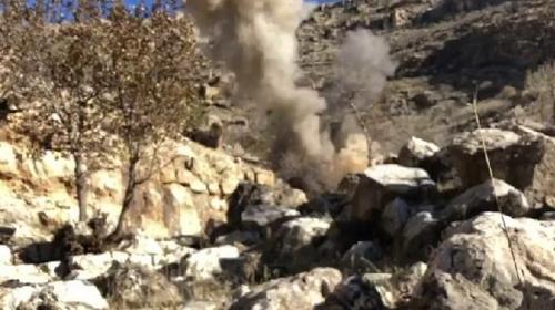 Güvenlik güçlerinin geçiş güzergahına tuzaklanan EYP imha edildi