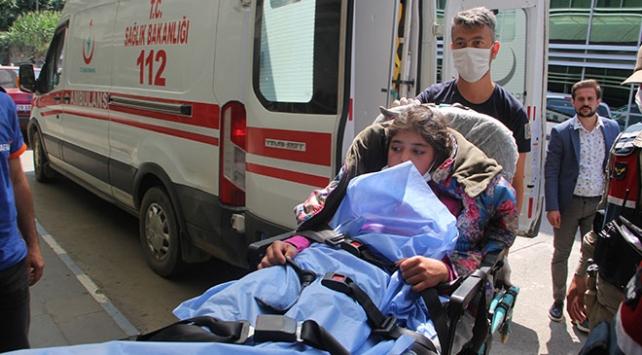 Giresunda yaylada bulunan çocuk taburcu edildi