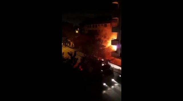 Sultanbeylide gecekondu yangını