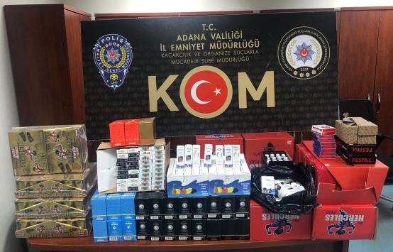 Adanada kaçakçılık operasyonunda 2 şüpheli gözaltına alındı