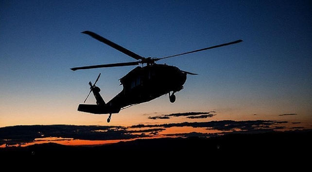 Afganistanda helikopter düştü: 2 yaralı