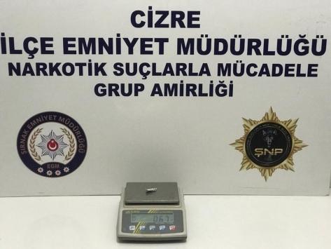 Şırnakta kaçakçılık operasyonlarında 28 şüpheli yakalandı