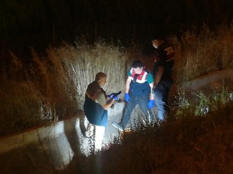 İzmirde kayıp işçi su kanalında ölü bulundu