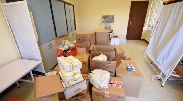 Türkiyeden Manas Üniversitesine tıbbi yardım