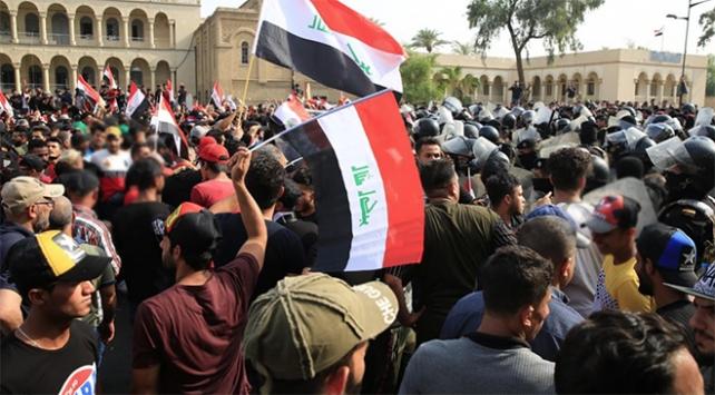 Irakta protestolar yine alevlendi: 2 ölü