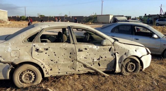 Libyada Hafterden kurtarılan bölgede yanmış bir ceset bulundu
