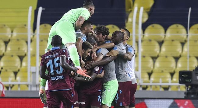 Trabzonspor finale tek yenilgiyle geldi