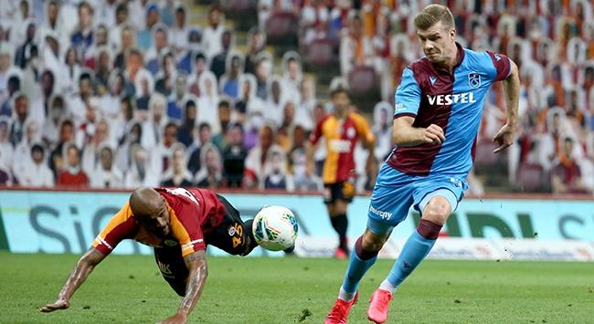 Trabzonsporlu Alexander Sörloth uzatma dakikalarının da kralı