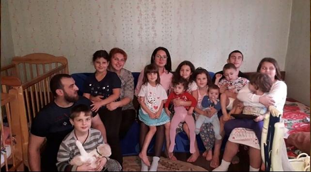 Rusyada 32 yaşındaki kadın 12. kez anne oldu