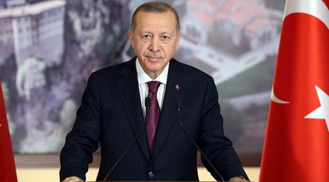Cumhurbaşkanı Erdoğan: Sümela Türkiyenin her türlü medeniyet mirasına sahip çıktığının somut örneği