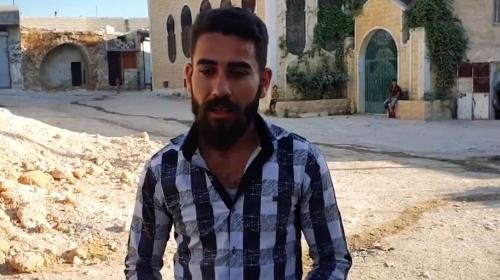 İdlib'deki Suriyelilerden Türk askerine teşekkür
