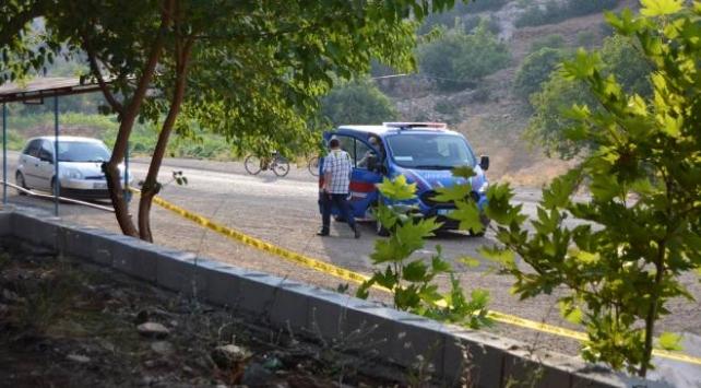 Gaziantepte mezarlıkta bulunan el bombası imha edildi