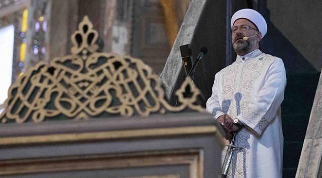 Erbaştan Müslüman dini liderlere Ayasofya mektubu