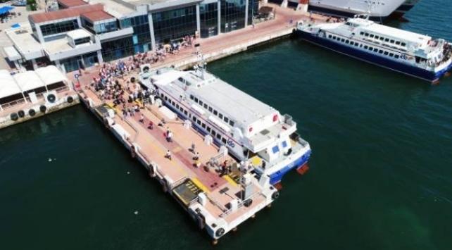 Yenikapı-Bandırma feribot seferlerinde bayram tatili yoğunluğu başladı