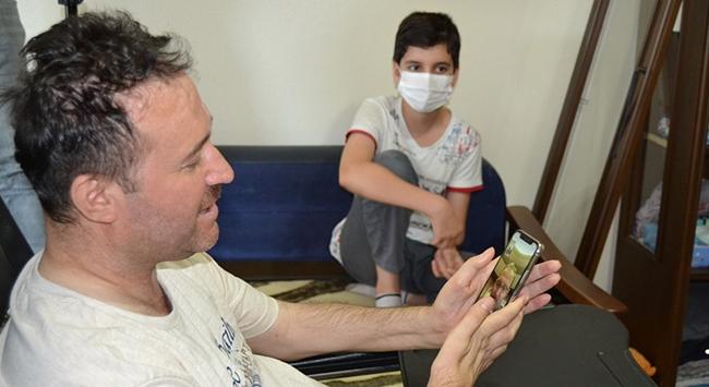 Bakan Kasapoğlundan eski itfaiye erini hayata bağlayacak hediye
