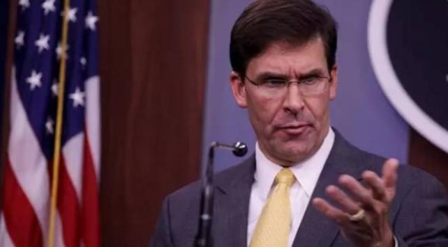 ABD Savunma Bakanı Esper: ABD, Almanyadan yaklaşık 11 bin 900 askerini çekecek