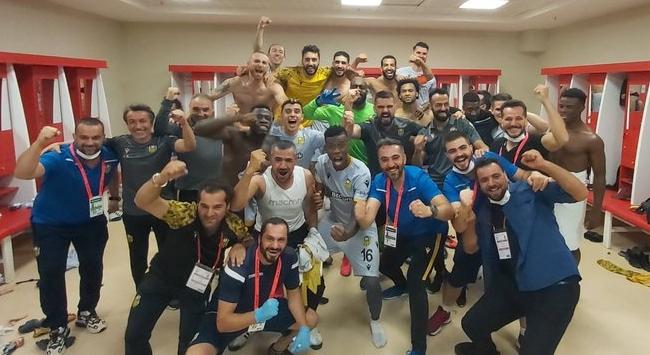 Yeni Malatyasporda Süper Lig sevinci