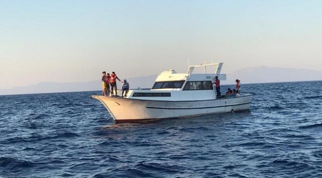 Çanakkale ve Muğlada 31 sığınmacı kurtarıldı