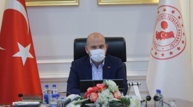 Bakan Soylu başkanlığında Kurban Bayramı tedbirleri toplantısı