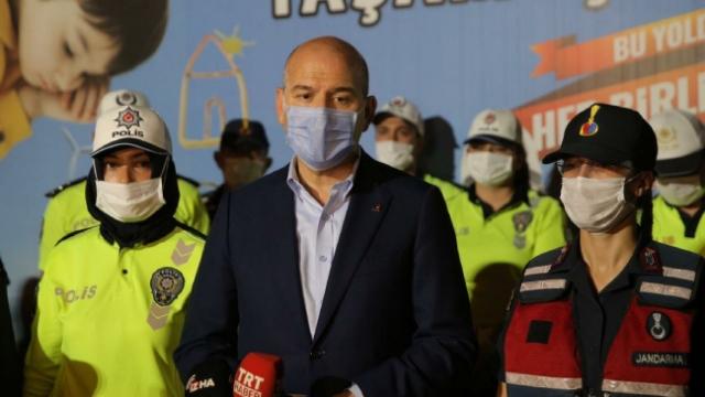 Bakan Soylu: Bayramda 163 bin polisimiz ve jandarmamız görev yapacak